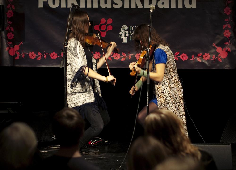 Årets vinnare - duon Fara, Foto: Jon Holmén