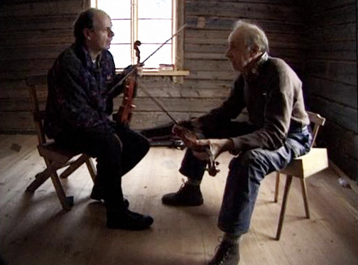 Jonas & Gustaf på Näset - stillbild från ett av de nya klippen - Foto: Jonas Holmén