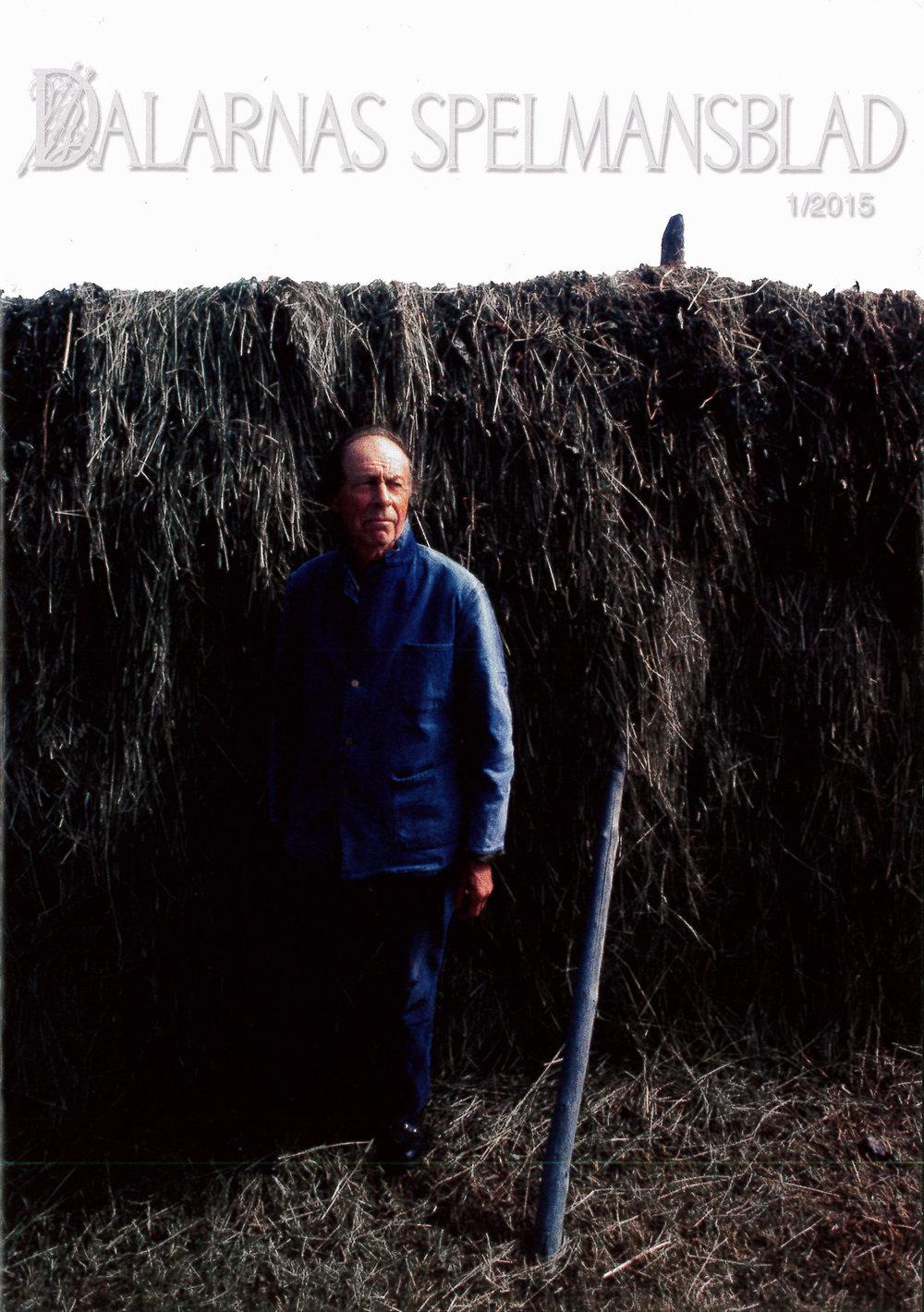Senaste numret av Dalarnas spelmansblad, utgivet i mars 2015.
