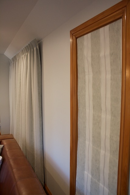 Rolleston Country House - Living Drapes and Roman Blinds