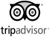 TripAdvisor logo for highly rated reviews