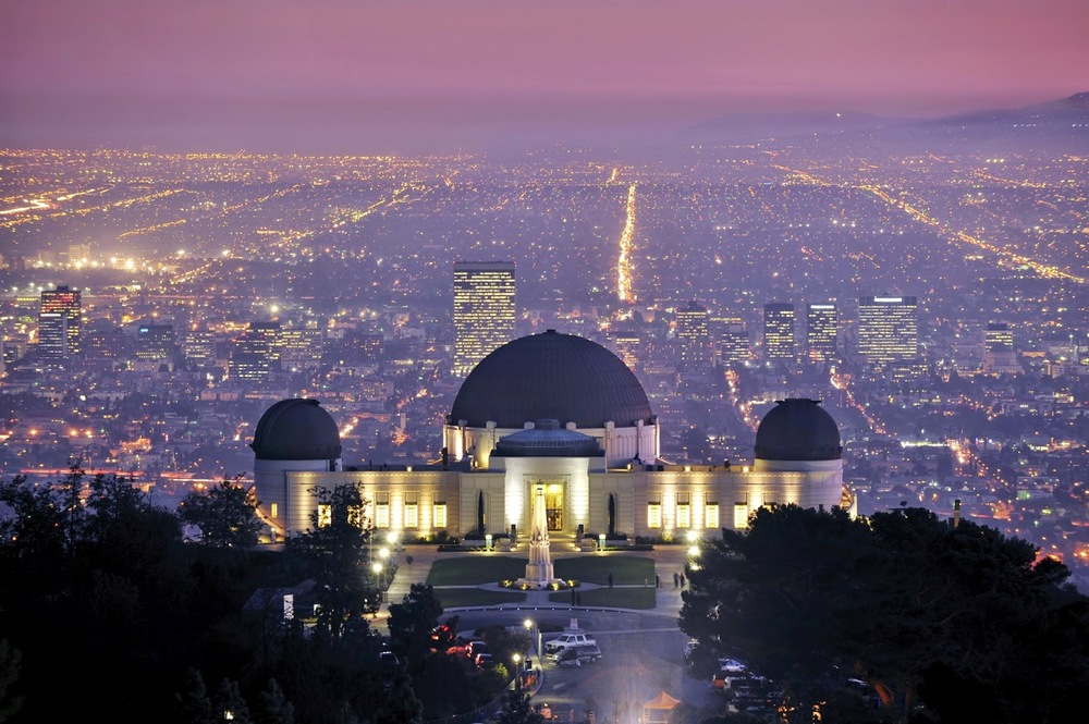 The Griffith Park Observatory And Its Surrounding Grounds Are Great For  Views Of The City And The Hollywood Sign. One Of The Best Times To Visit Is  Before ...