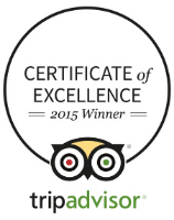 TripAdvisor Certificate of Excellence winner logo