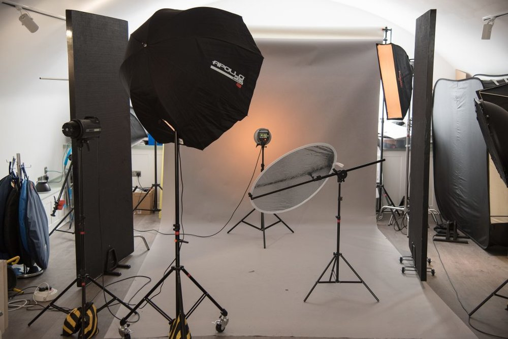 Photo studio - Fully equipped, 71.5sq // 769sqf