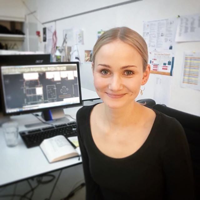 New year - new colleague. Stella is a constructing architect and a Revit pro. She will help us with projects like the New Psychiatric Hospital in Trondheim and the new Dementia Home and Care Center Skovvang in Allerød. Welcome, Stella #karlssonark