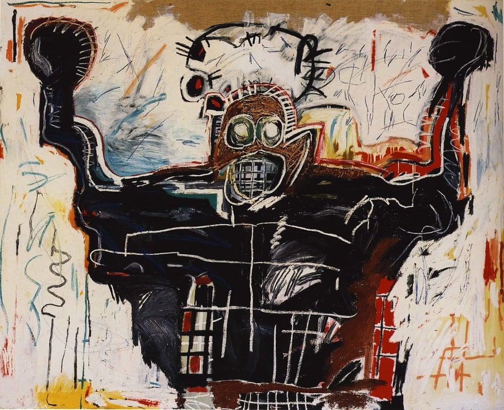 Jean-Michel Basquiat, Untitled (Boxer), 1982