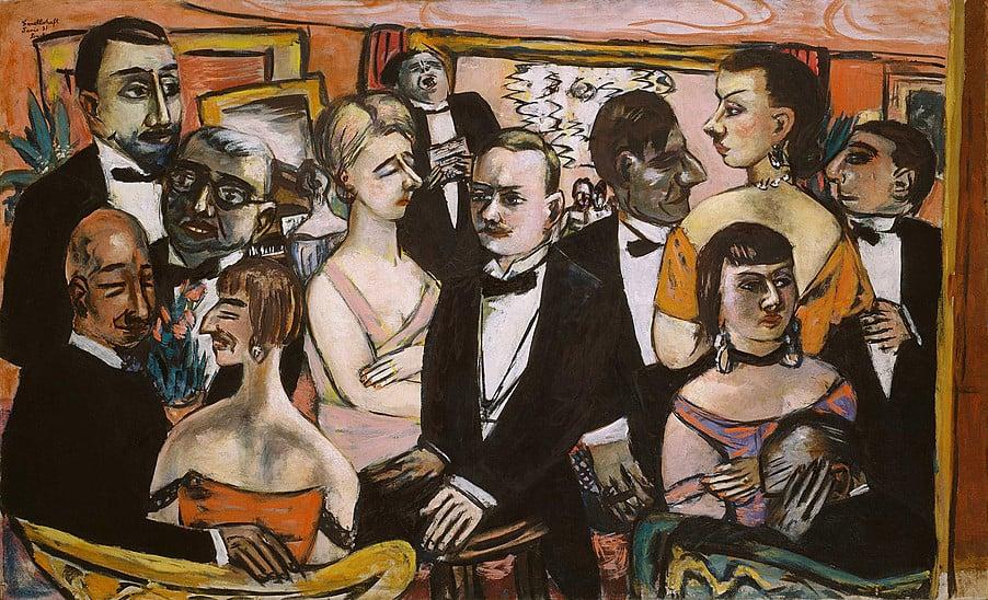 Max Beckmann, Paris Society, 1931