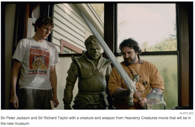 This photo is included because READ THE CAPTION. There were SWORDS in Heavenly Creatures?!