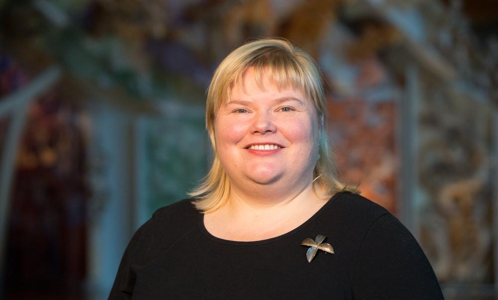 Victoria Leachman, Rights Advisor, 2015. Photo by Norm Heke, Te Papa