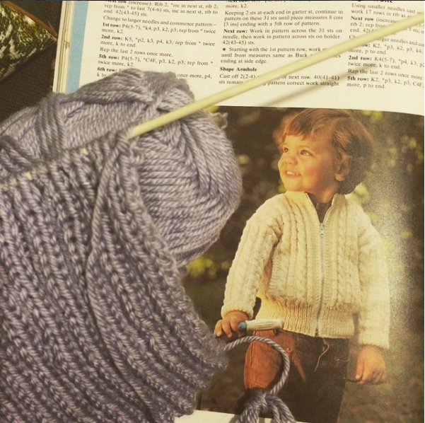 Why are knitting-book kids so intense-looking?