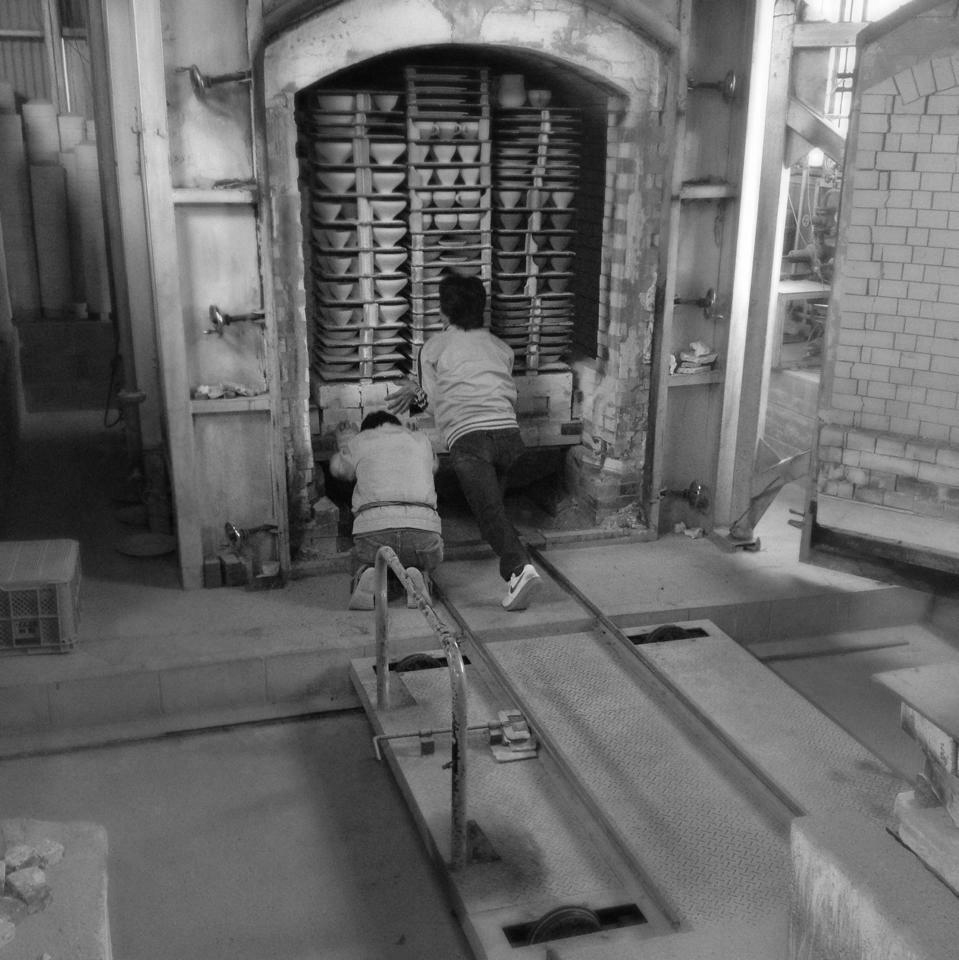 Entering kiln bnw.jpg