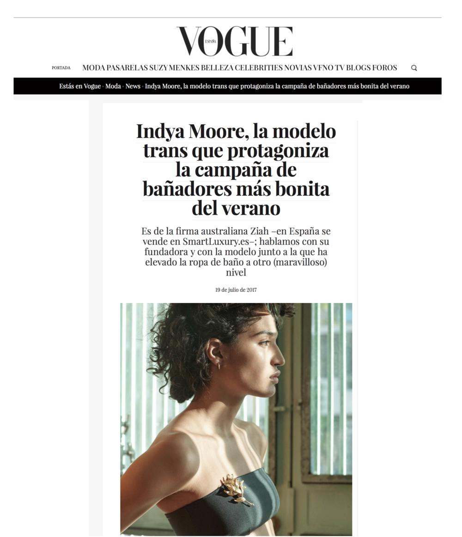 VOGUE SPAIN / JULY 2019