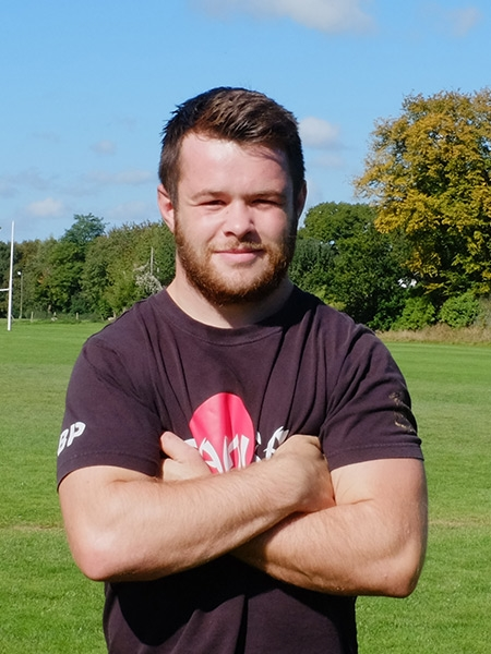 Ben Pugh - Back Row