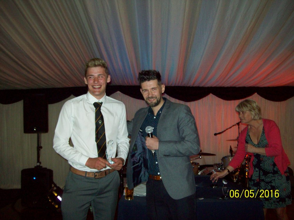 Gethin Lewis, Most Improved Player Award (with Nick Howells)