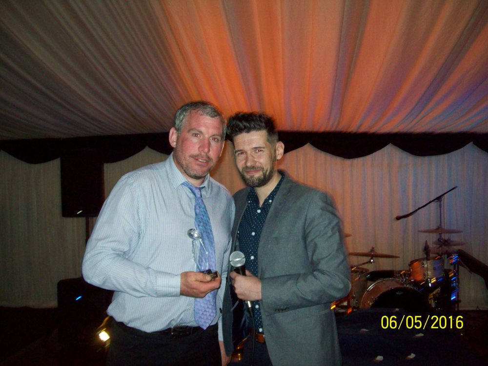 David Bayliss, Player Of The Year Award (with Nick Howells)