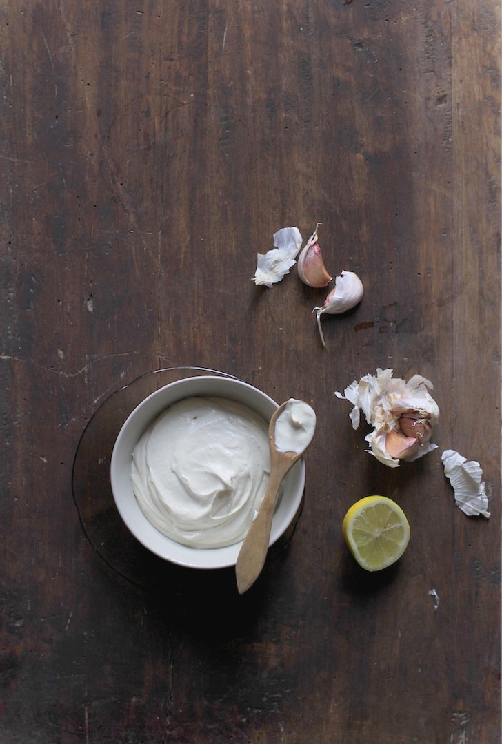 FINGER-LICKING CASHEW AND GARLIC 'MAYO' DIP by Let It Be Cosy