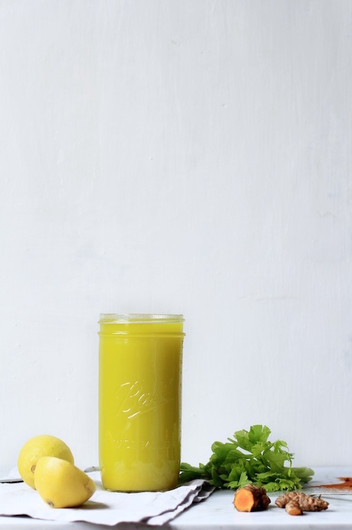 LEMON GINGER TURMERIC JUICE - EVERY DAY STAPLE by LET IT BE COSY