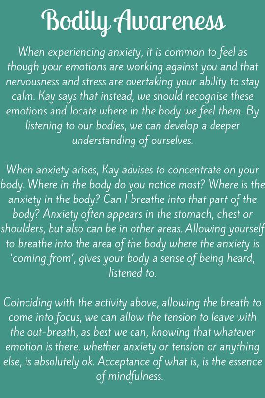 Bodily Awareness