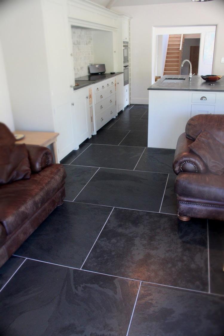 Slate Tiles - Hand Polished — post - Rock and Wood