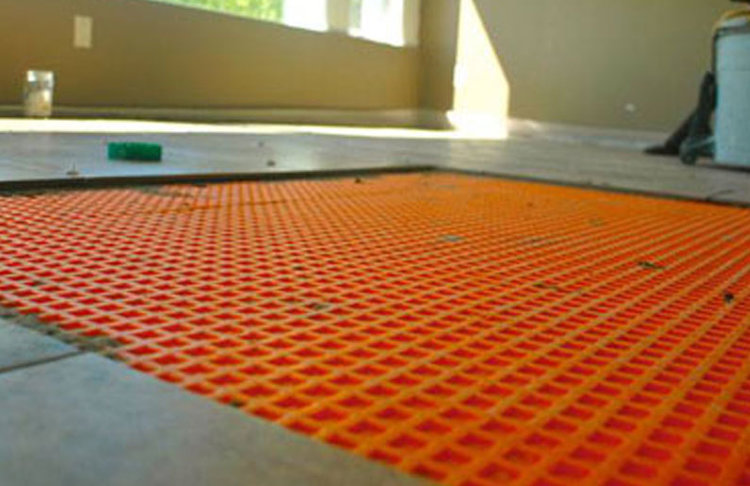 The Importance Of Using Ditra Or Bal Matting Post Rock And Wood