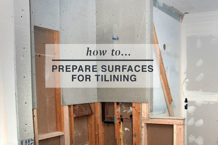 How To Prepare Sub Floors For Tiling Post Rock And Wood