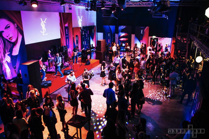 YSL 'Vinyl' launch party.