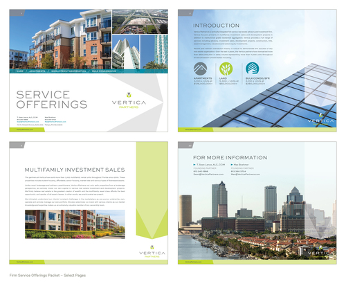 Maggie sage design for Real estate offering memorandum template