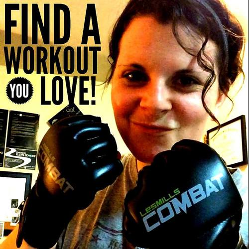 I consistently swap in my FAVORITE Les Mills Combat workouts if I'm just not feelin' doing another owrkout for the night! Find something FUN! Something you LOVE!