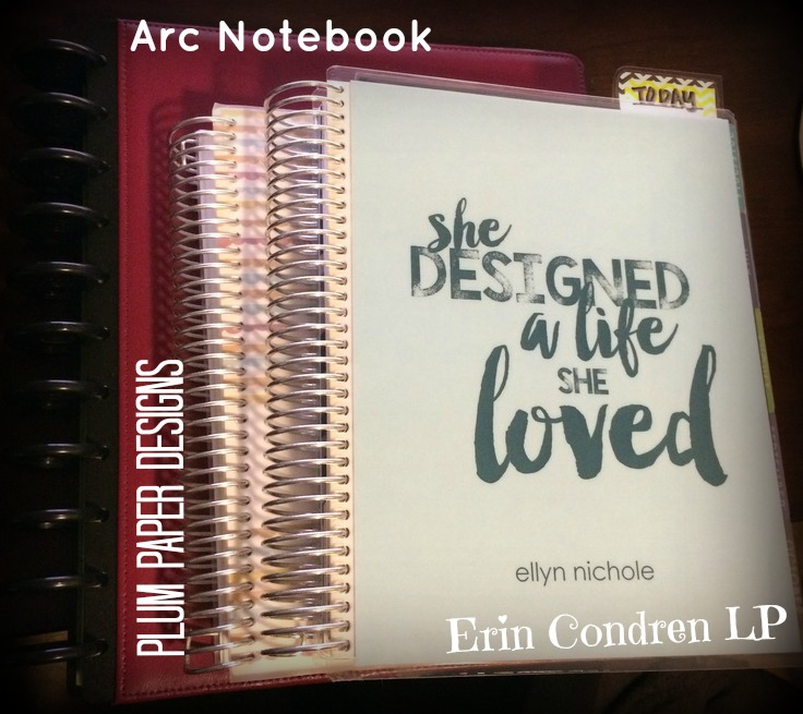 The Arc notebook I have was 8.5 x 11 - which was just too big for me to have with me at all times!