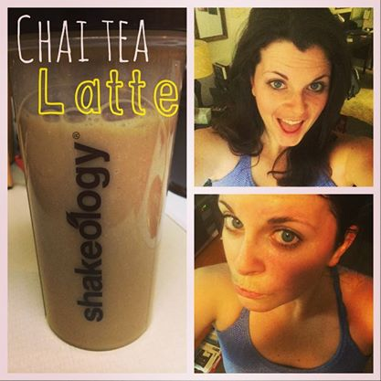 FAVORITE! Or at least one of them! This CHAI TEA LATTE SHAKEOLOGY is a winner