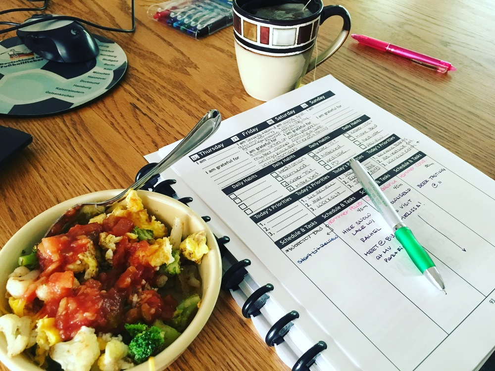 Using my Life Design Planner has become part of my morning routine!