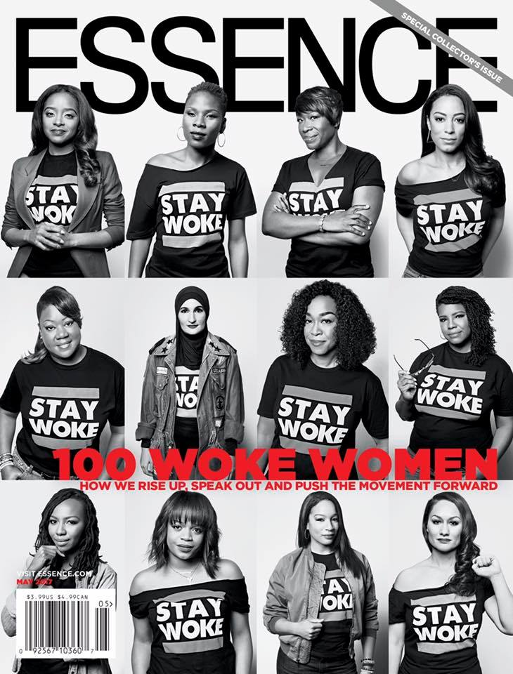Gathering Board Member Tamika Mallory in the top left corner, Justice League NYC member Linda Sarsour in the middle row, 2nd from the left, and Executive Director Carmen Perez in the bottom right corner.  And we're thrilled the issue also includes our sister and Justice League NYC member Leslie Mac and her business partner for their work creating The Safety Pin Box. Please join us in celebrating these exceptional women! Read here.