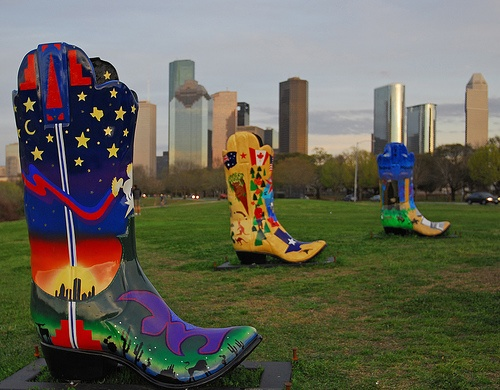 Cowboy Boots in Houston