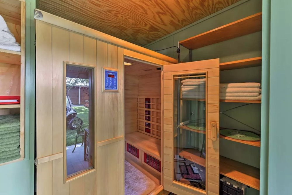 Unlimited use of Far Infrared 4 person Sauna