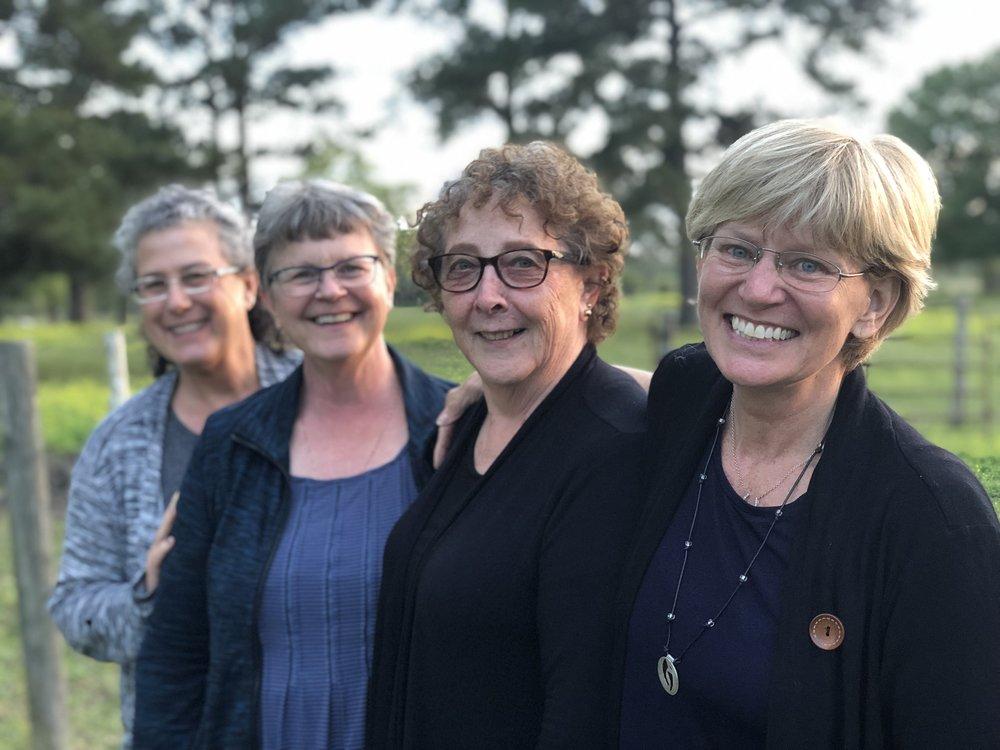 Jane, Patricia, Darlene, Kathy