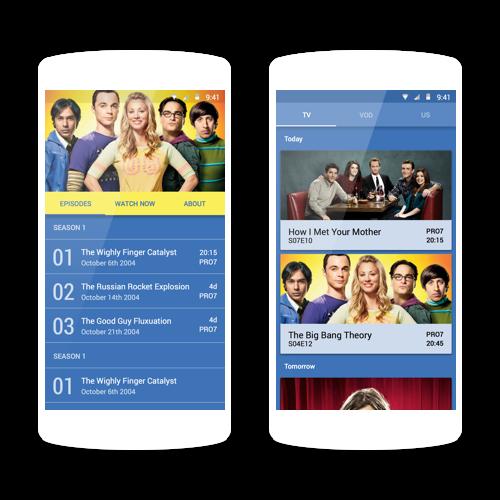 Series app