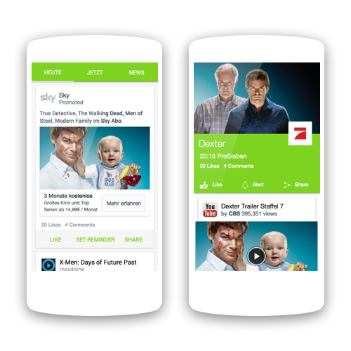 Social TV app