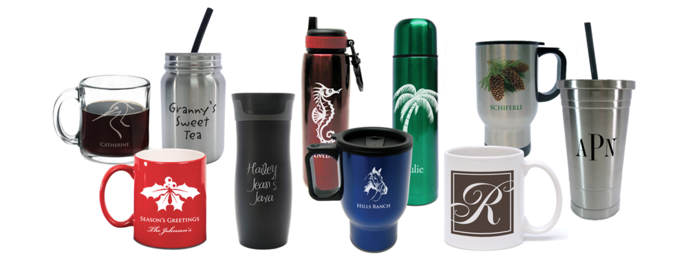COFFEE & TRAVEL MUGS