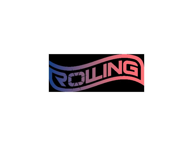 Rolling lettering