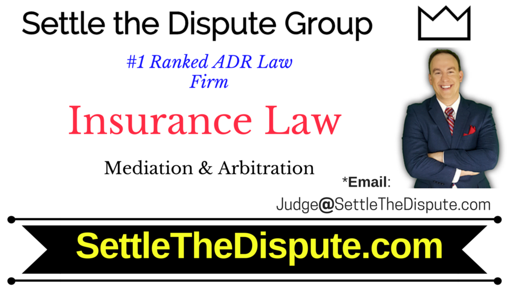 Best Insurance Lawyers for Mediation & Arbitration - ADR for Insurance Cases