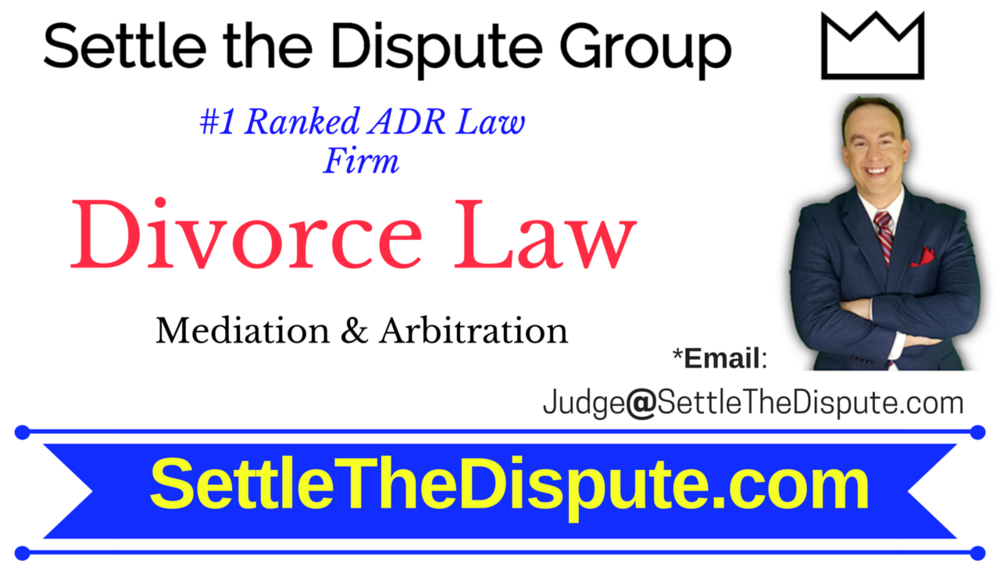 The best attorneys and lawyers for divorce mediation : SettletheDispute.com