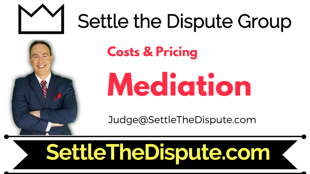 The Costs of Mediation - Explained by Expert in ADR