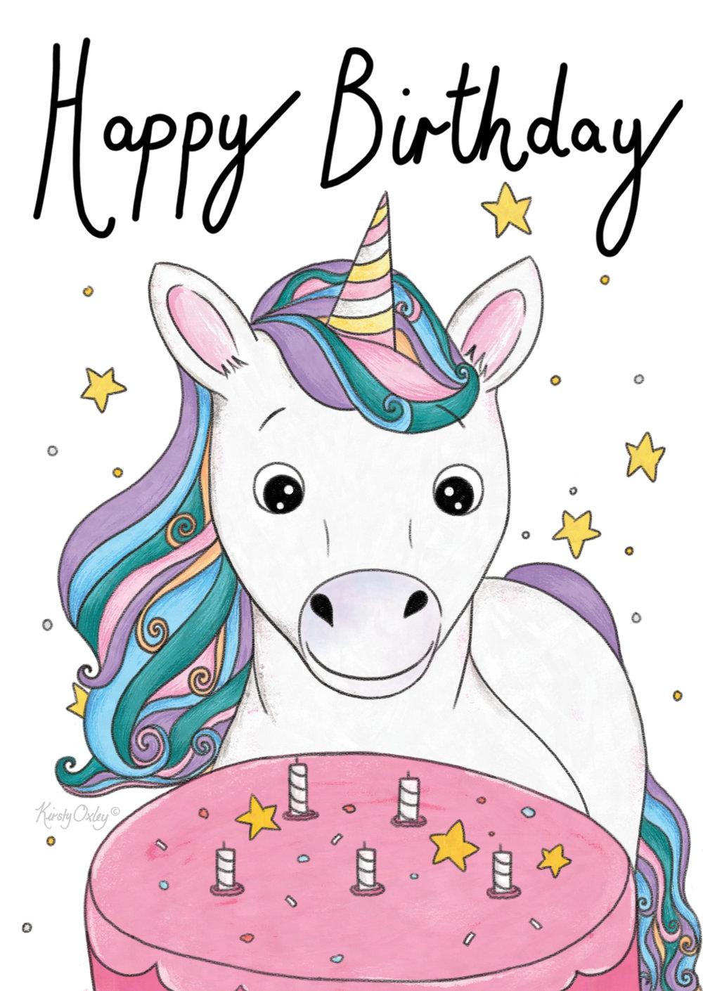 Unicorn_Birthday_Card_Kirsty_Oxley_Illustration_White_writing_sig.jpg