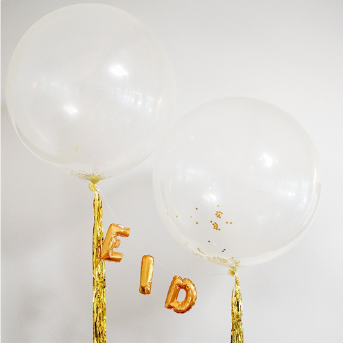 24 creative ways to jazz up your eid party amna khawar gold foil eid balloons an eid party wouldnt be complete without some eid balloons grab some gold foil letter balloons and pair them up with oversized stopboris Image collections