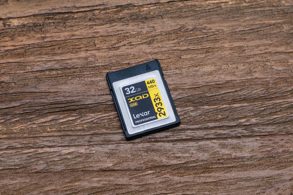 XQD Karte 32 GB und 440MB/s