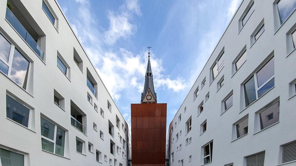 Bild einer Kirche in Köln mit der Handykamera LG G5