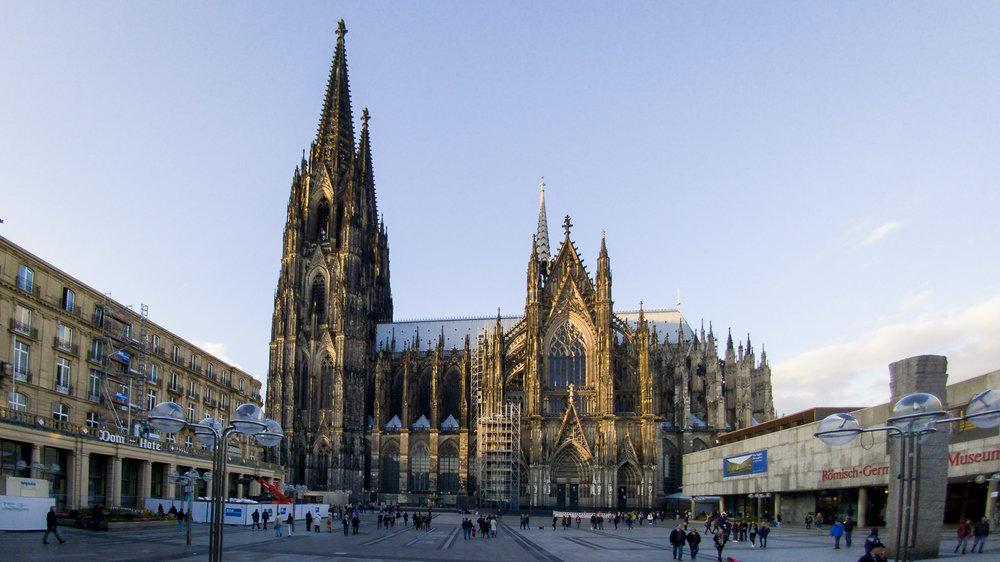 Bild vom Kölner Dom mit der Handykamera LG G5
