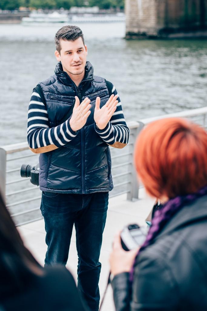 Julian Weiser Kursleiter für Portrait und Grundkurs
