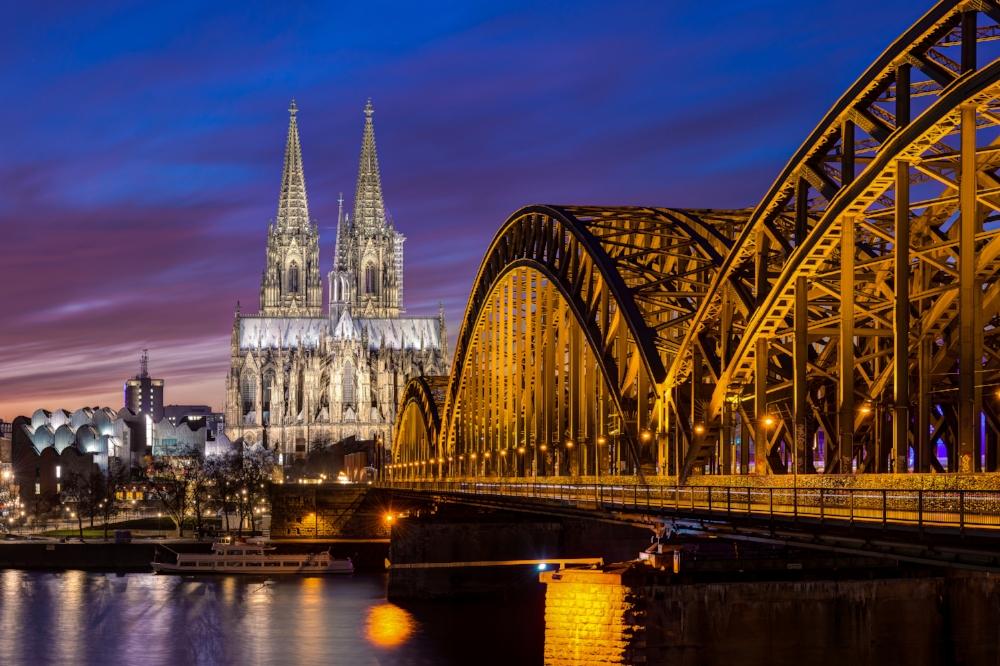 Ein Ergebnis des Nachtbelichtungskurses in Köln Deutz