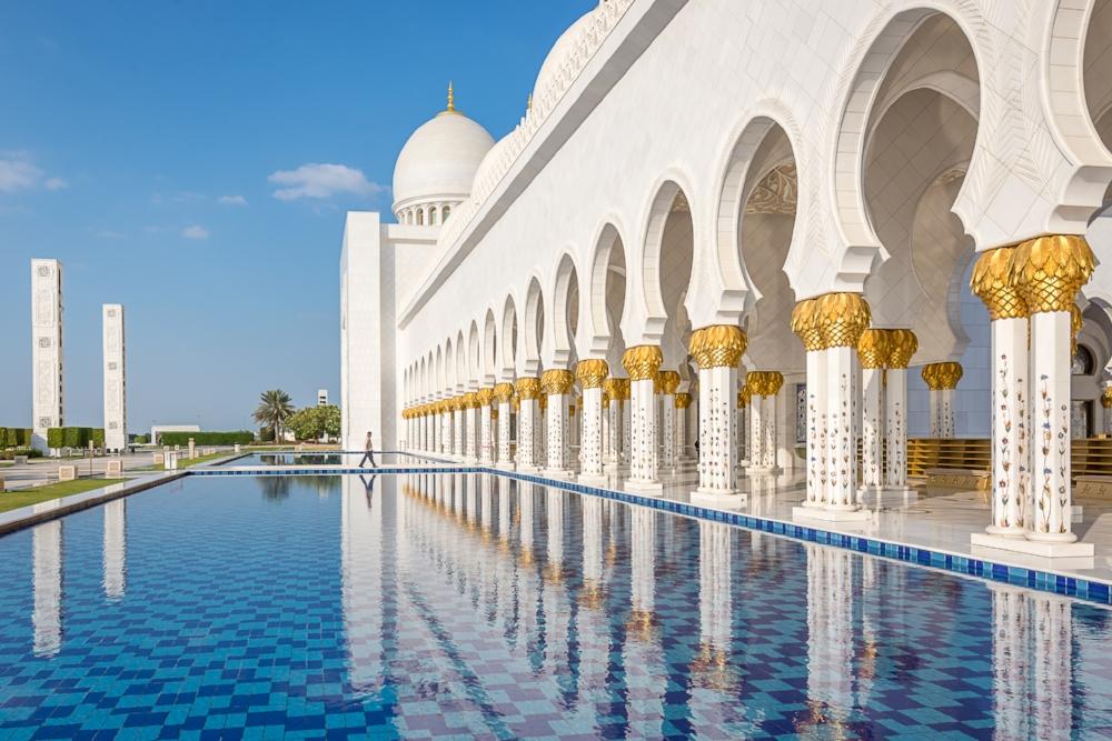 Große Moschee Abu Dhabi
